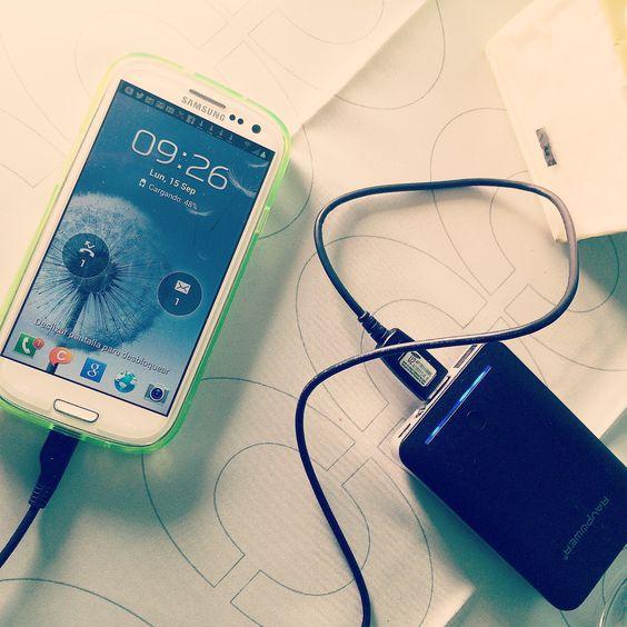 Use the #power of #ravpower  every were , el no tener batería en tu #smarphone Ya no es un  problema. By #simbiosc & #simbiosctv  #publicidad