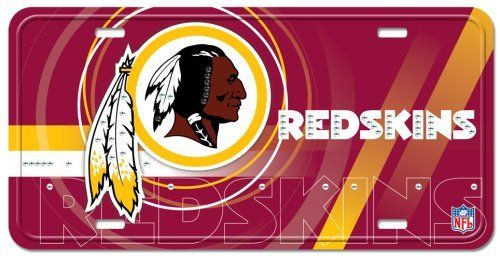 Washington Redskins Street Flair Plate by Pro-FAN-ity by Littlearth, http://www.amazon.com/dp/B0011JI63M/ref=cm_sw_r_pi_dp_H9t8rb1KD7Y04