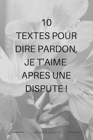 10 Textes Pour Lui Demander Pardon Après Une Dispute