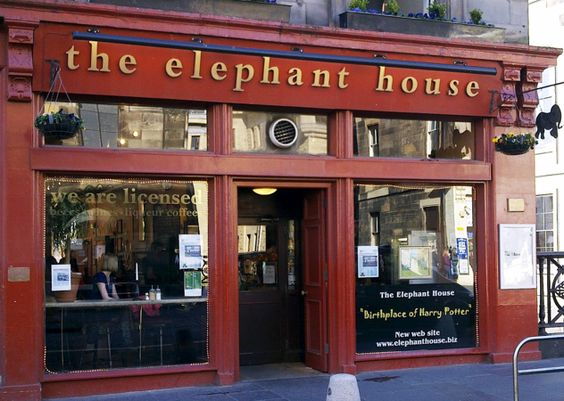 The Elephant House Café, Edinburgh - widely acknowledged as one of the places where J.K Rowling began writing Harry Potter. #thisisedinburgh