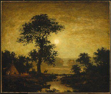 Moonlight by Ralph Albert Blakelock, ca. 1885-1889