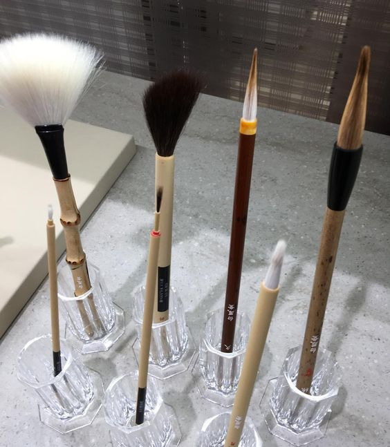 #hakuhodo painting brush