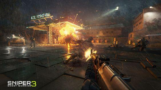Sniper Ghost Warrior 3 - metralhadora