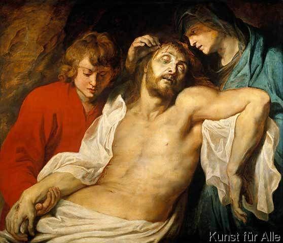 Peter Paul Rubens - Die Beweinung Christi durch Maria und Johannes (Große Beweinung)