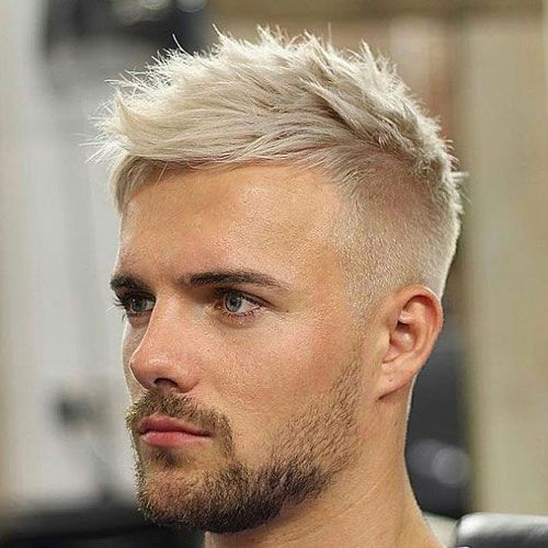 Google Image Result For Https Www Menshairstylestoday Com Wp Content Uploads 2020 02 Short Mess In 2020 Haircuts For Balding Men Platinum Blonde Hair Cool Hairstyles