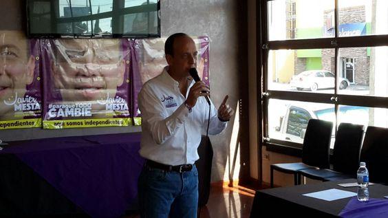 Somos la verdadera opción independiente: Javier Mesta | El Puntero