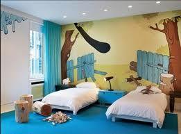 enxoval com mveis e pintura azul turquesa na parede para quarto infantil masculino para gmeos