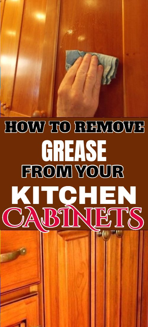 How To Remove Grease From Wooden Cabinets Clean Kitchen Cabinets Kitchen Cabinets Wooden Cabinets