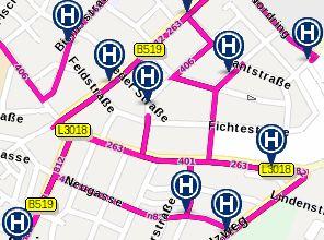 Frankfurt transit page