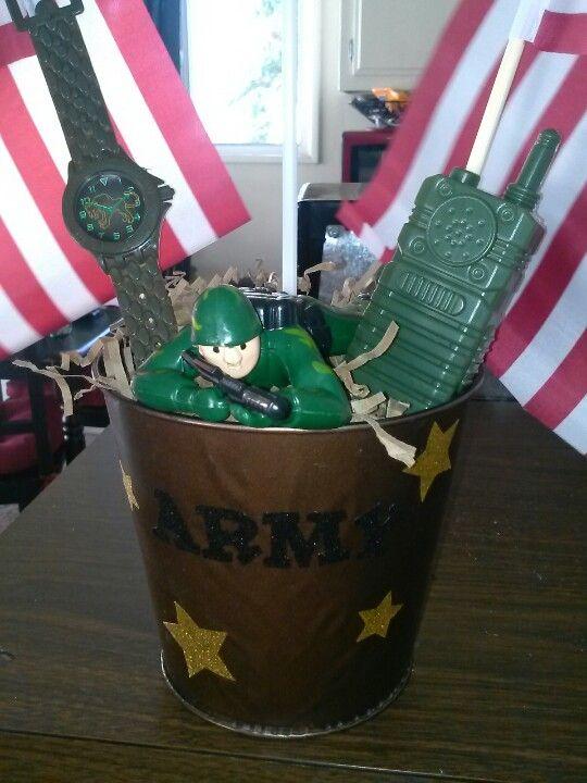 diy army centerpiece army birthday party pinterest