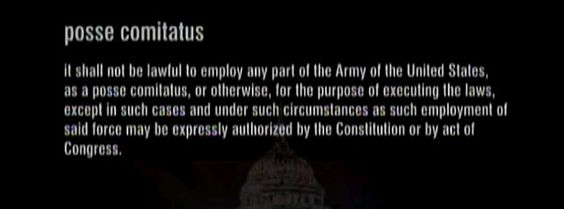 POSSE COMITATUS ACT - signed on June 18, 1878 by President Rutherford B. Hayes. The purpose of the act – in concert with the Insurrection Act of 1807 – is to limit the powers of the federal government in using its military personnel to act as domestic law enforcement personnel.: