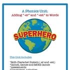 This Unit Includes:*Both Character Posters (-er and -est)*Big, Bigger, Biggest Superhero Posters*3 games*Graphing Activity*Assessments*Compa...