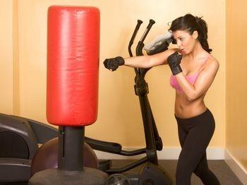 My circuit starts tomorrow.  Punching Bag Workout