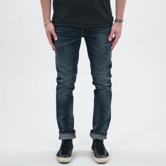 Nudie Jeans - Grim Tim Worn Deep