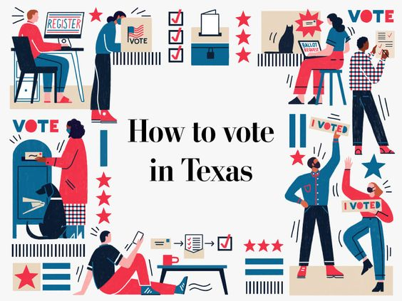 Voting in Texas? Texas is one of a few states that is still prioritizing in-person voting during the covid-19 pandemic. Here's how to register to vote in your state, and everything else to know about voting by mail, in person, early or absentee for the 2020 election.