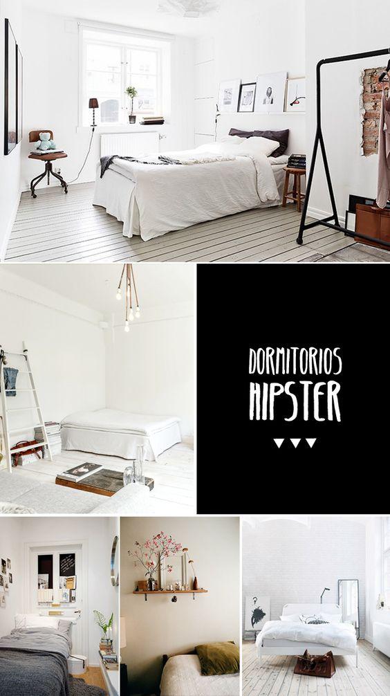dormitorios hipster