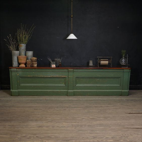 Really, really want one of these - Antique General Store Mercantile Counter by DailyMemorandum,