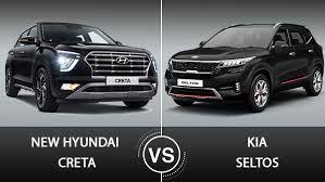 Technical Minds Compairson Review 2020 Kia Seltos Vs Hyundai Creta In 2020 Head Up Display Apple Car Play Kia