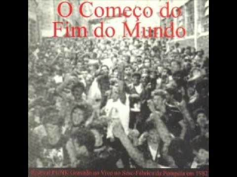 ONE OF THE FIRST PUNK FESTS IN BRAZIL - IT WAS RECORDED -  V A O COMEÇO DO FIM DO MUNDO (FULL ALBUM).