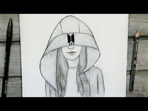 رسم سهل تعليم رسم بنت بقلم الرصاص بطريقة سهلة وبسيطة Bts طريقة رسم وجه بنت رسم بنات كيوت Y Beauty Art Drawings Art Drawings Simple Amazing Art Painting