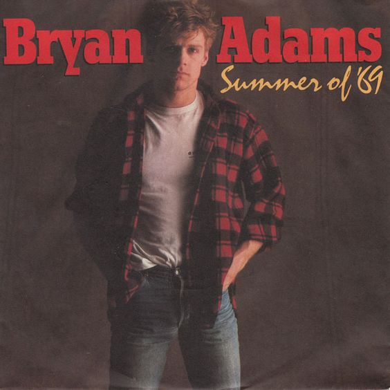 Bryan Adams – Summer of '69 (single cover art)