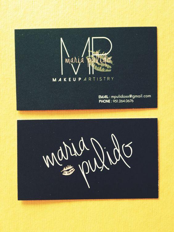 Business Card Design- Makeup Artistry