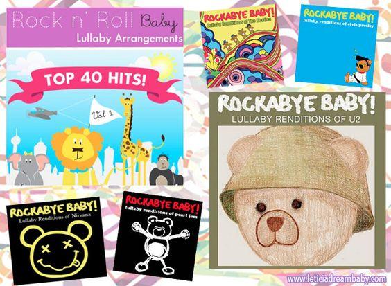 Brinquedos Musicais: CDs RockabyeBaby