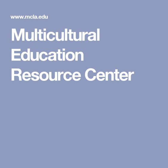 Multicultural Education Resource Center