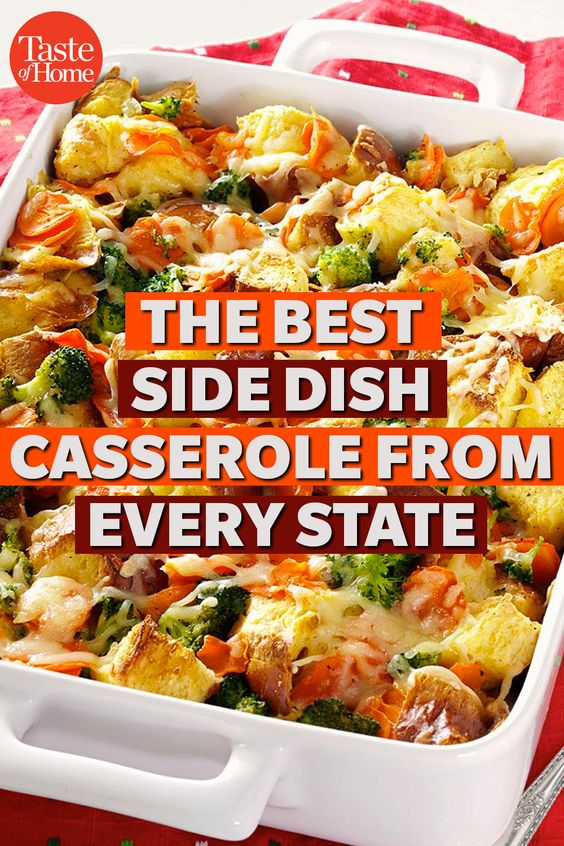 The Best Side Dish Casserole From Every State