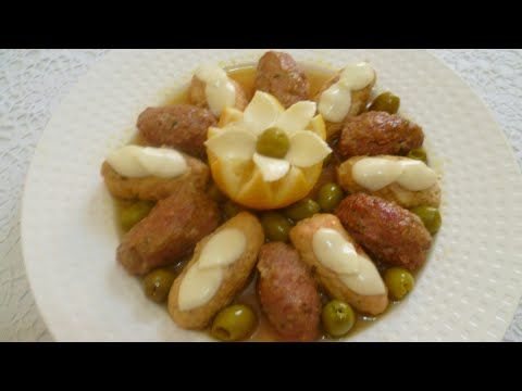 جديد الأطباق الرمضانية كفتة أو طاجين زيتون في الفرن طريقة رائعة تستحق التجربة Youtube Food Sausage Meat