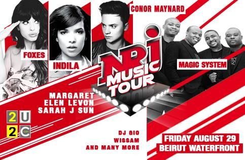 NRJ Music Tour poster