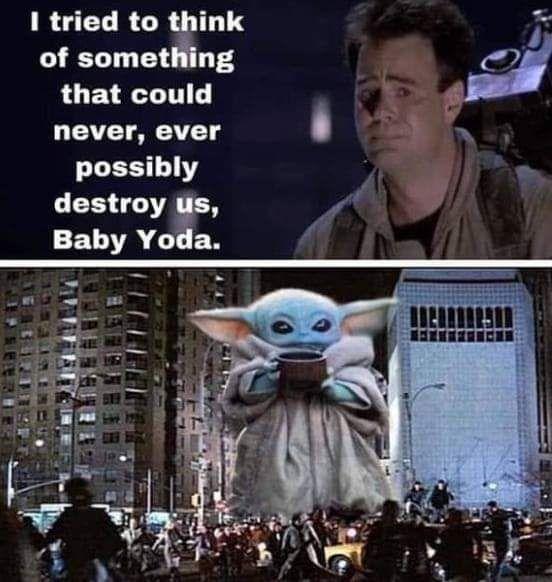 Just Going Tonleave This Here Babyyoda Yoda Funny Yoda Meme Yoda