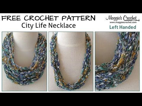 Beginner Left Handed Crochet Patterns : City life, Free crochet and Left handed on Pinterest