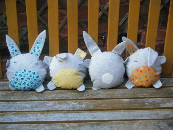 I spent lots of time last spring looking for bunnies. These are perfect!: Easter Idea S, Crafts For Kids, Toys Patterns, Children S Ideas, Crafts Ideas, Kids Sewing Patterns, Bunny Toys, Sewing Ideas, Craft Ideas
