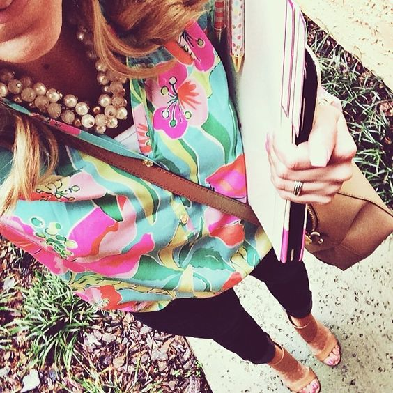 business chic in lilly <3