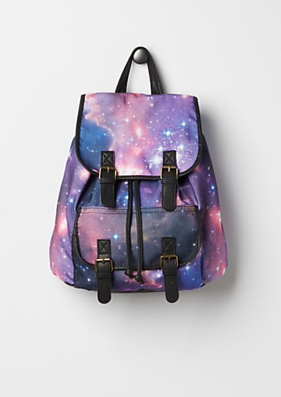 Galaxy Double Buckled Mini Backpack | rue21