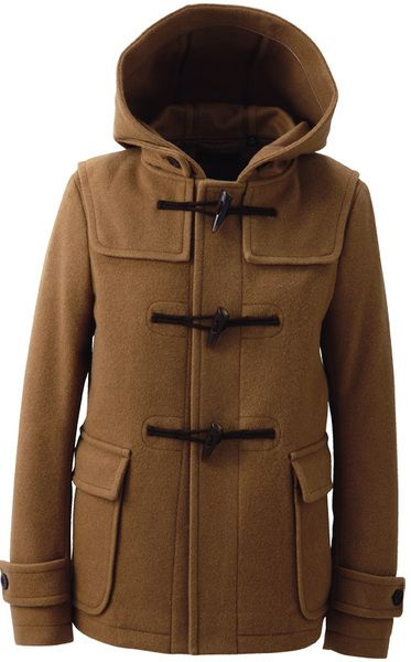 WOMEN WOOL BLENDED SHORT DUFFLE COAT uniqlo | clothing shopping ...