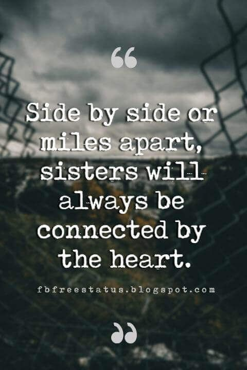 Short Quotes About Sisters - positive quotes