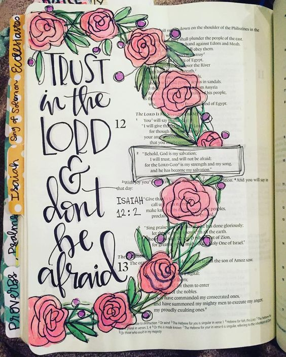 Artsy Bible Journaling
