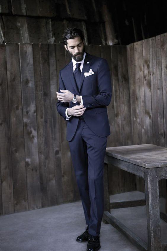 suit model for short men