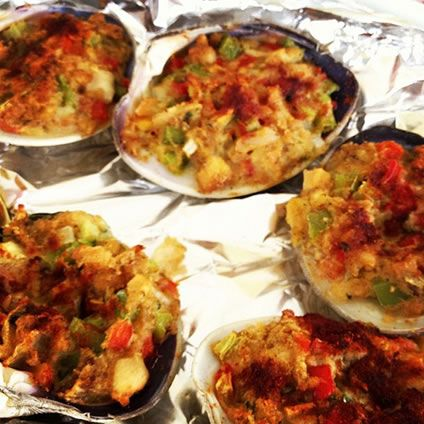 Crunchy Clams Casino with Bacon | AmazingSeafoodRecipes