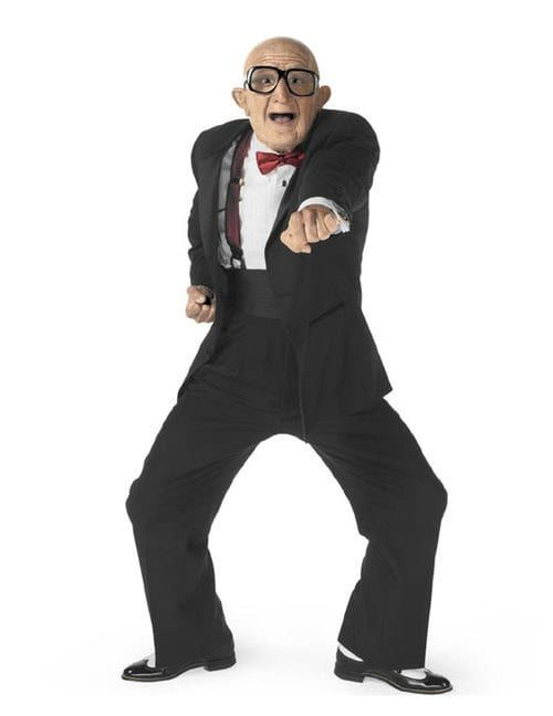 Remember The Dancing Old Man From The Six Flags Commercials Turns Out He S Super Hot Old Men Olds Dancing Men