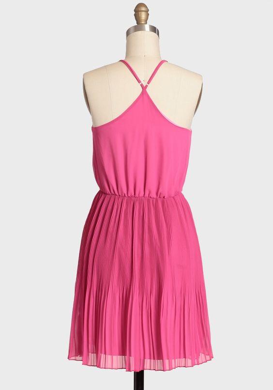 Pressed Flower Chiffon Dress | Modern Vintage Dresses