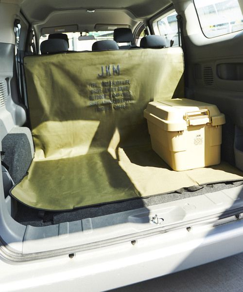 Jack Marie ジャックアンドマリー の Jkm 2way ラゲッジシート インテリアアクセサリー です このアイテム着用のコーディネートをチェックすることもできます 車 シート ファッション通販 車