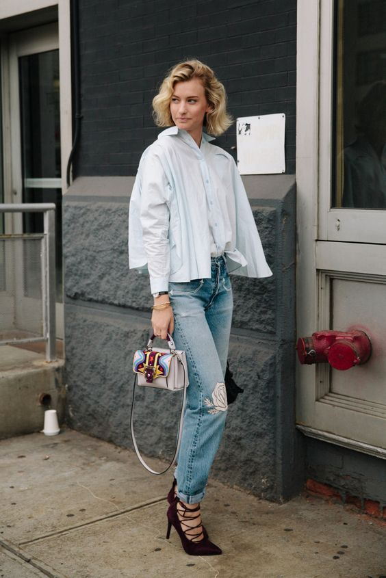 #NYFW Street Style [Photo: Liz Devine]: