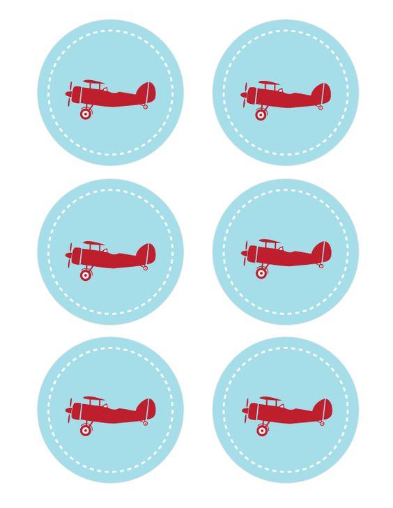 Airplane Printables – download here | Kuni 5 | Pinterest ...