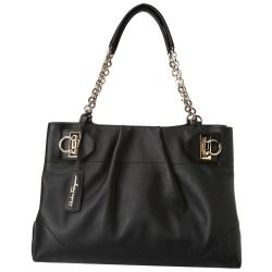 Salvatore Ferragamo - W Chain Tote (Nero) - Bags and Luggage - product - Product Review