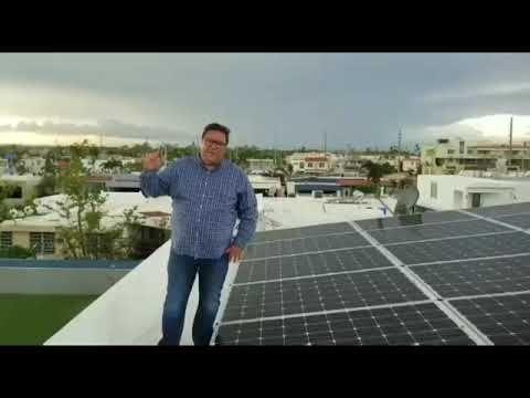 Instalacion Sistema Solar Con Baterias Y Generador Puerto Rico Youtube Proyectos De Energia Solar Instalaciones Fotovoltaicas Instalacion