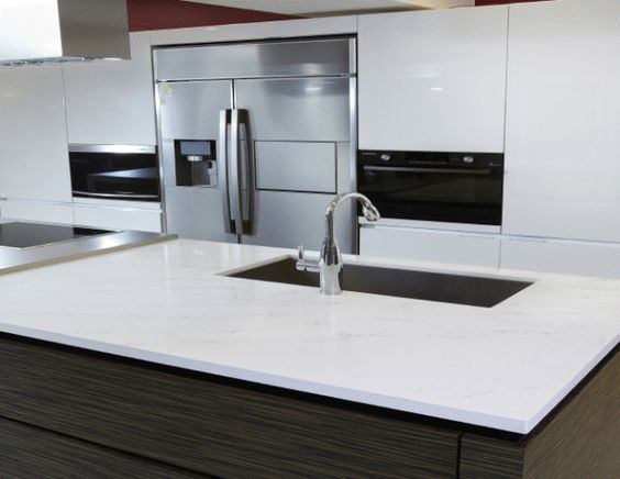 Marbles Kitchen Counters And White Quartz On Pinterest