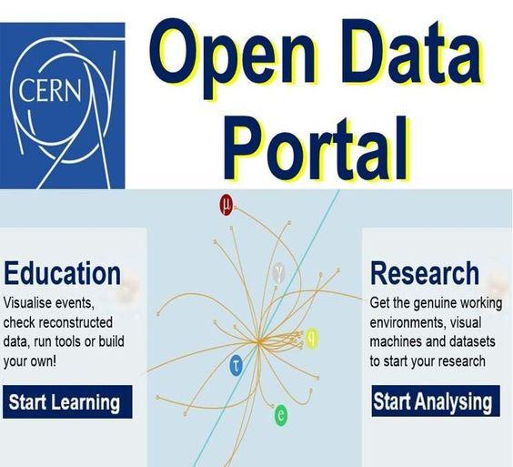 Resultado de imagen de cern open data
